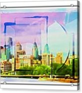 Philly Colours Acrylic Print