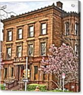 Philly Fairmount View Two Acrylic Print