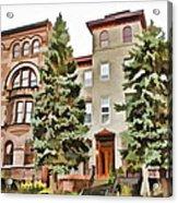 Philly Fairmount Views Acrylic Print