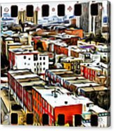 Philly Filmstrip Acrylic Print by Alice Gipson