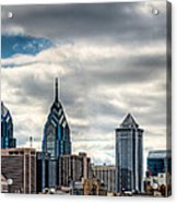 Philly From The East Acrylic Print