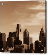 Philly Skyline 2013 Acrylic Print