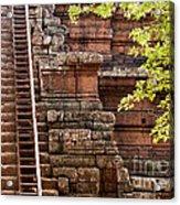 Phimeanakas Temple Steps Acrylic Print