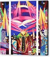 Phish New York For New Years Triptych Acrylic Print by Joshua Morton