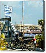 Phnom Penh Harbour Acrylic Print