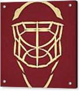 Phoenix Coyotes Goalie Mask Acrylic Print
