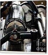 Phonograph Recording Cylinder Acrylic Print