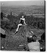 Photo Shoot 1947 Acrylic Print