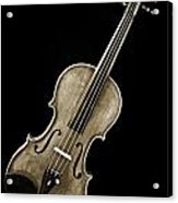 Photograph Of A Complete Viola Violin In Sepia 3368.01 Acrylic Print
