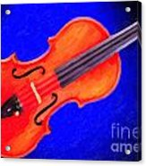 Photograph Of A Complete Viola Violin Painting 3371.02 Acrylic Print