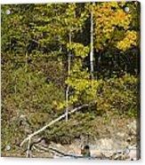 Photographer On A Northern Lake Acrylic Print
