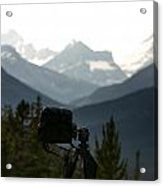 Photographing The Tonquin Valley Acrylic Print