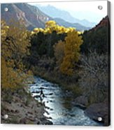 Photographing Zion National Park Acrylic Print