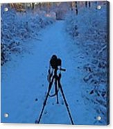 Photography In The Winter Acrylic Print