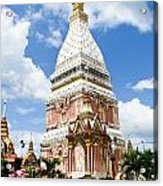 Phra That Raynu In Nako Phanom Thailandhon Phanomthailand Acrylic Print