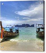 Phuket Koh Phi Phi Island Acrylic Print by Bob Christopher