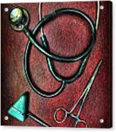 Physician's Tools  Acrylic Print by Lee Dos Santos