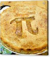 'Pi' Pie Acrylic Print