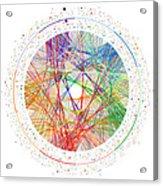 Pi Transition Paths Acrylic Print
