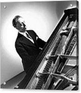 Pianist Artur Rubinstein, 1944 Acrylic Print