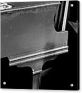 Piano In Black And White Acrylic Print