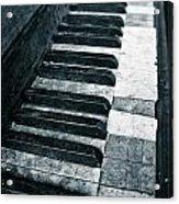 Piano Keys Acrylic Print