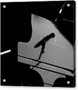 Piano Needs A Microphone Acrylic Print by Tony Reddington