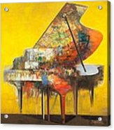 piano No.19 Acrylic Print