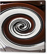 Piano Swirl Acrylic Print by Garry Gay