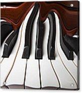 Piano Wave Acrylic Print