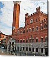Piazza Del Campo Acrylic Print