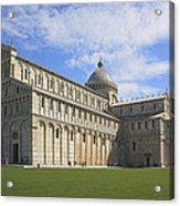 Piazza Del Duomo Pisa Italy  Acrylic Print