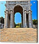 Piazza Della Vittoria - Genova. Italy Acrylic Print
