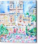 Piazza Di Spagna - Rome Acrylic Print