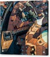 Piazza Ravegnana Acrylic Print