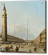 Piazza San Marco Looking South And West Acrylic Print