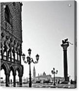 Piazza San Marco Acrylic Print by Marion Galt