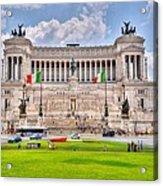Piazza Vanizia Acrylic Print