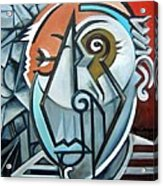 Picasso Bust Acrylic Print