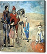 Picasso's Family Of Saltimbanques Acrylic Print