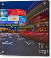 Piccadilly Circus Acrylic Print