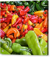 Pick A Peck Of Peppers Acrylic Print