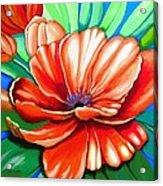 Pick Me Poppy Acrylic Print