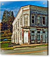 Pickens Wv Painted Acrylic Print