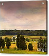 Pickets Charge - Gettysburg - Pennsylvania Acrylic Print