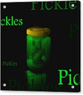 Pickles - Fruit And Veggie Series - #9 Acrylic Print