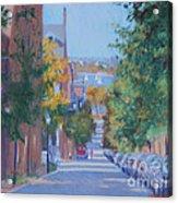Pickney Street Fall Acrylic Print