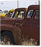 Pickup Cabs 2 Acrylic Print