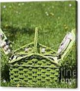 Picnic Basket Acrylic Print