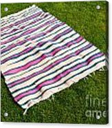 Picnic Blanket Acrylic Print